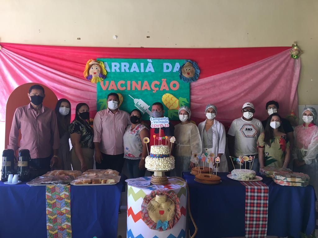 Prefeitura e Secretaria realiza mutirão de vacinação contra a COVID-19 - Imagem 1