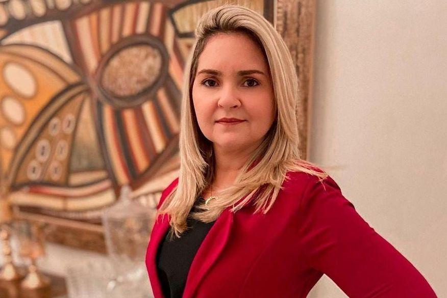 Vereadora Erilene ficou 13 dias internada, mas não resistiu (Foto: Reprodução)