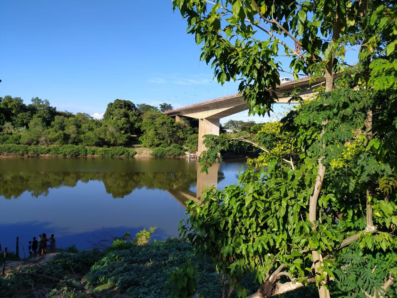 Corpo de homem foi encontrado no Rio Poti, em Teresina - Foto: Reprodução