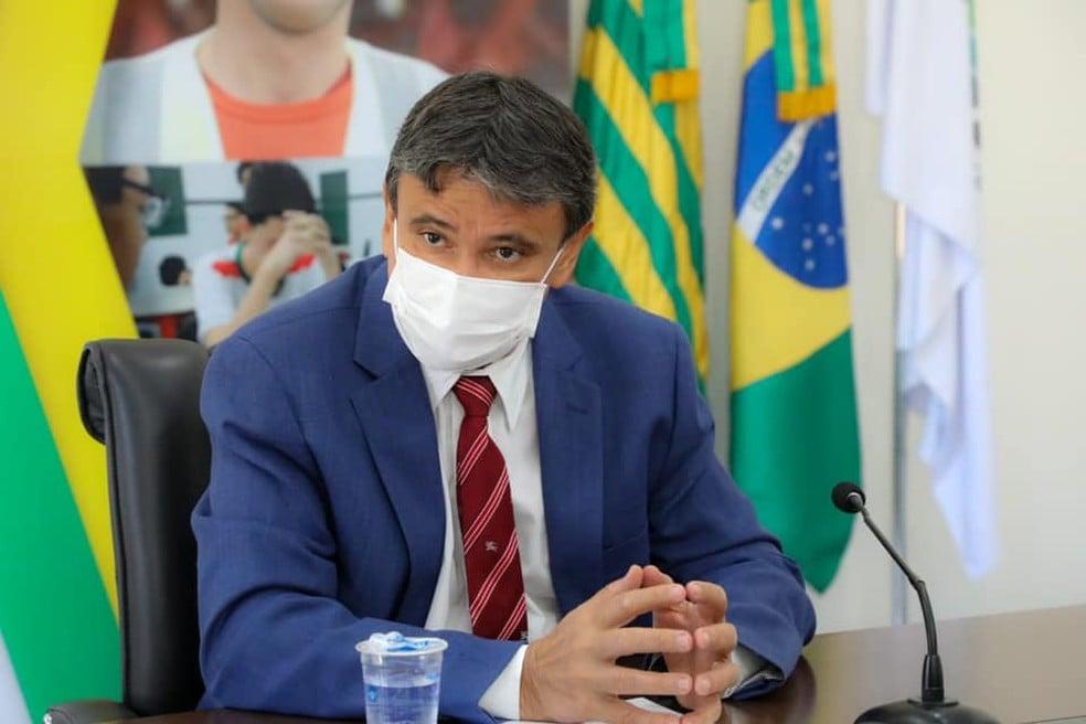 Governador Wellington Dias pretende dobrar vacinados até outubro - Foto: Divulgação/Ccom