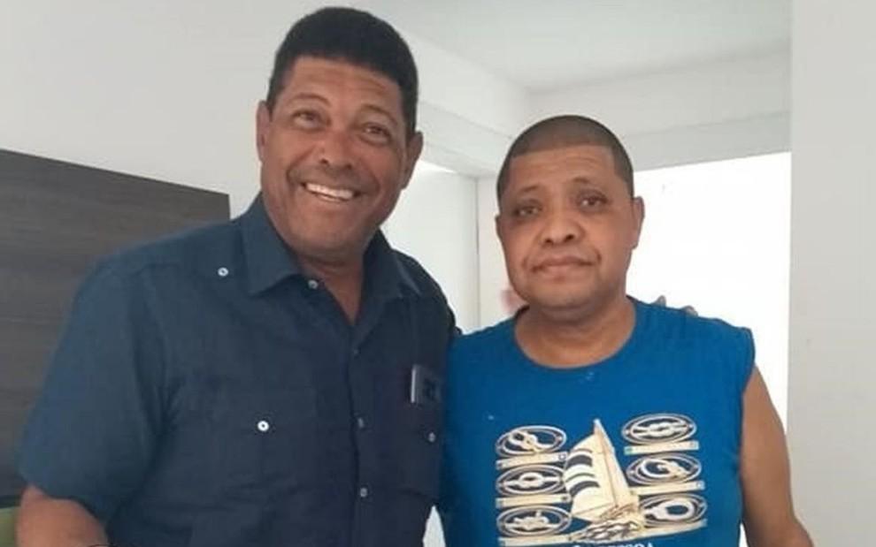 Valdemiro Santiago e o irmão Vanderley, que morreu por covid-19