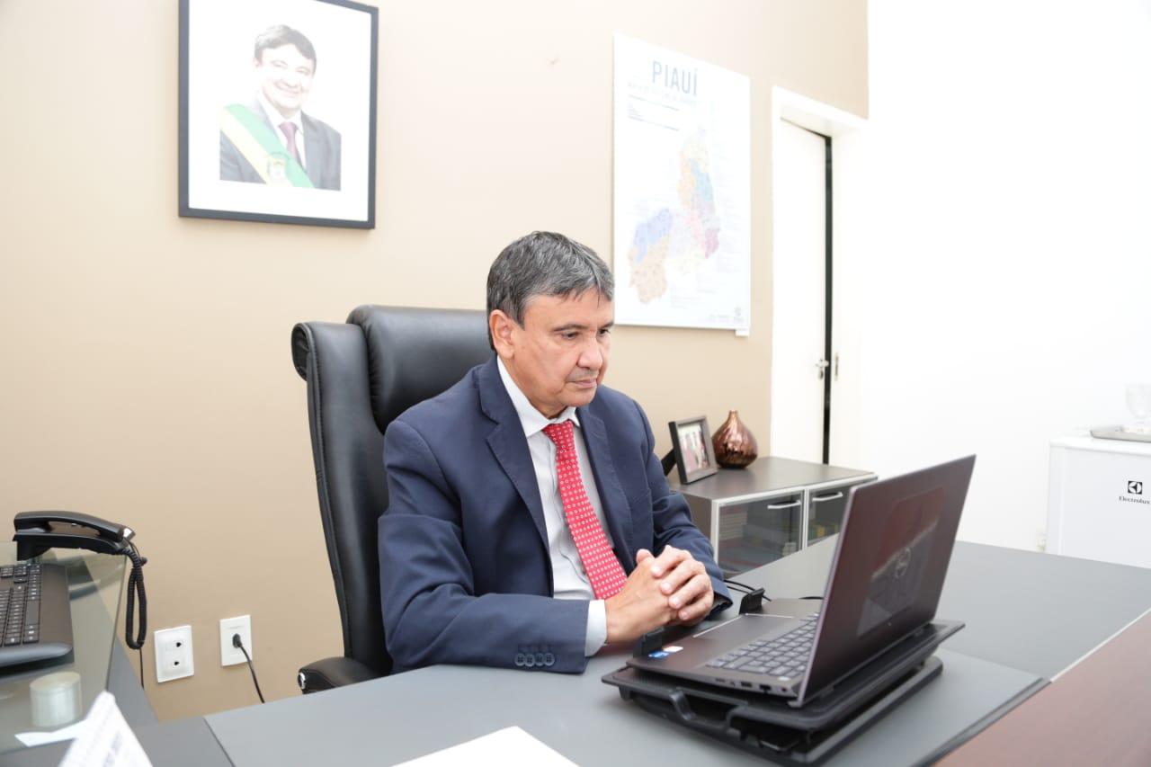 Governador cumpre agenda em Brasília nesta terça (Foto: Régis Falcão)