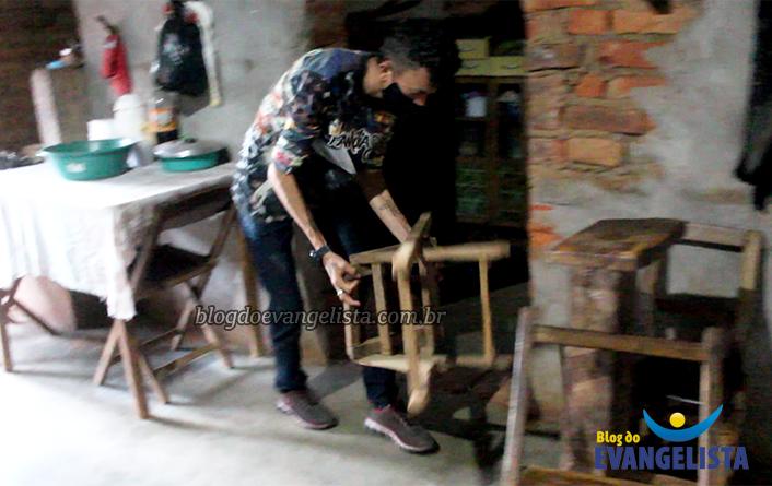 Vídeo mostra cenas da casa sobrenatural no Piauí (Foto: Blog do Evangelista)