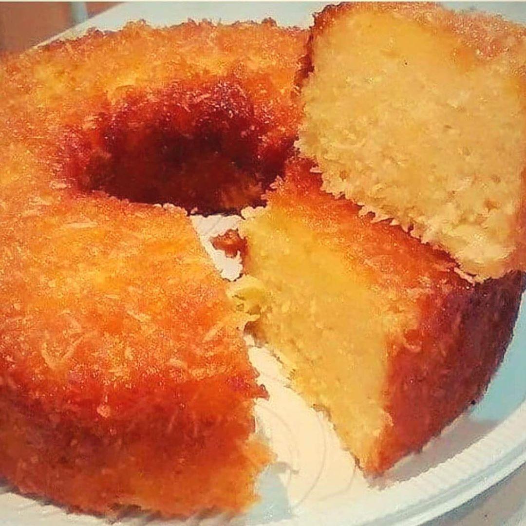 Receita de bolo de mandioca
