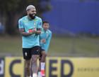 Tite testa Gabigol e Gabriel Jesus por vaga a ataque da Seleção Brasileira