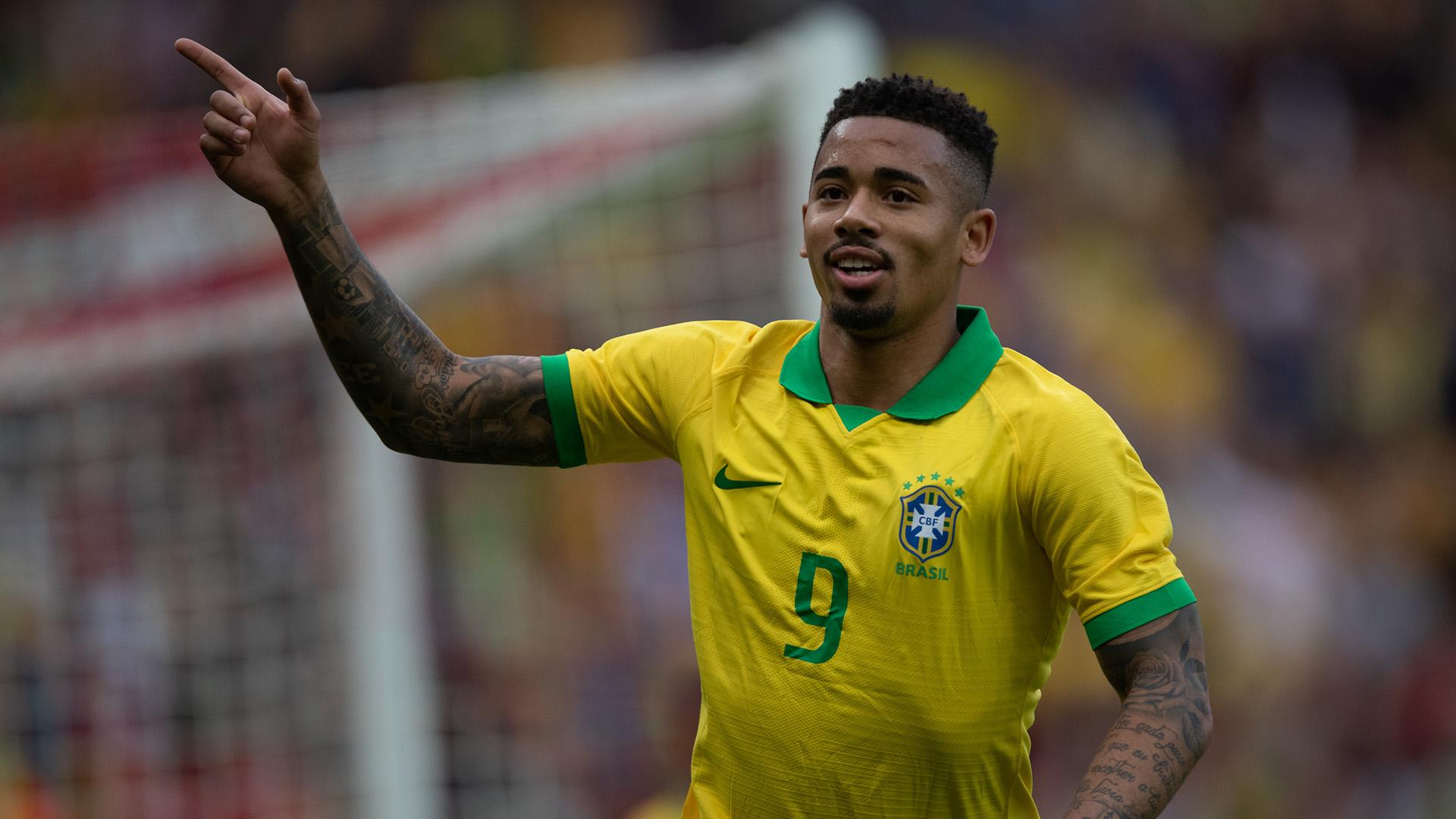 Jesus e Gabigol vivem momentos opostos na seleção brasileira- Foto: Divulgação