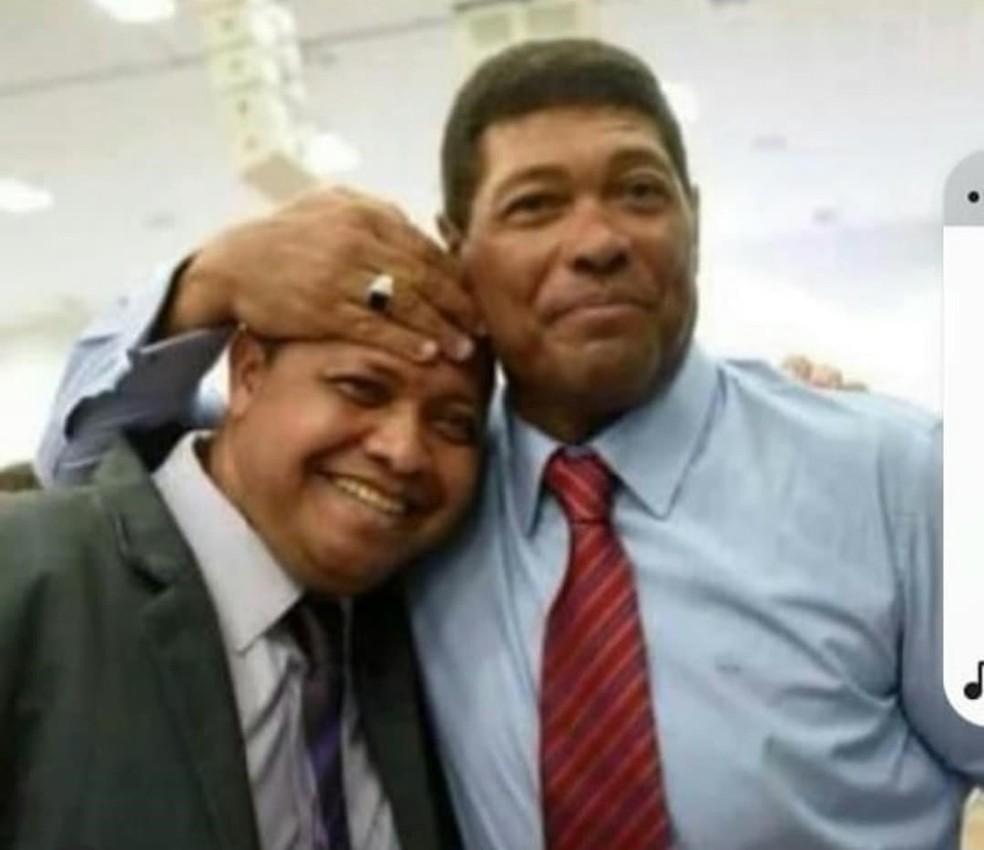 Valdemiro Santiago e o irmão Vanderley Santiago