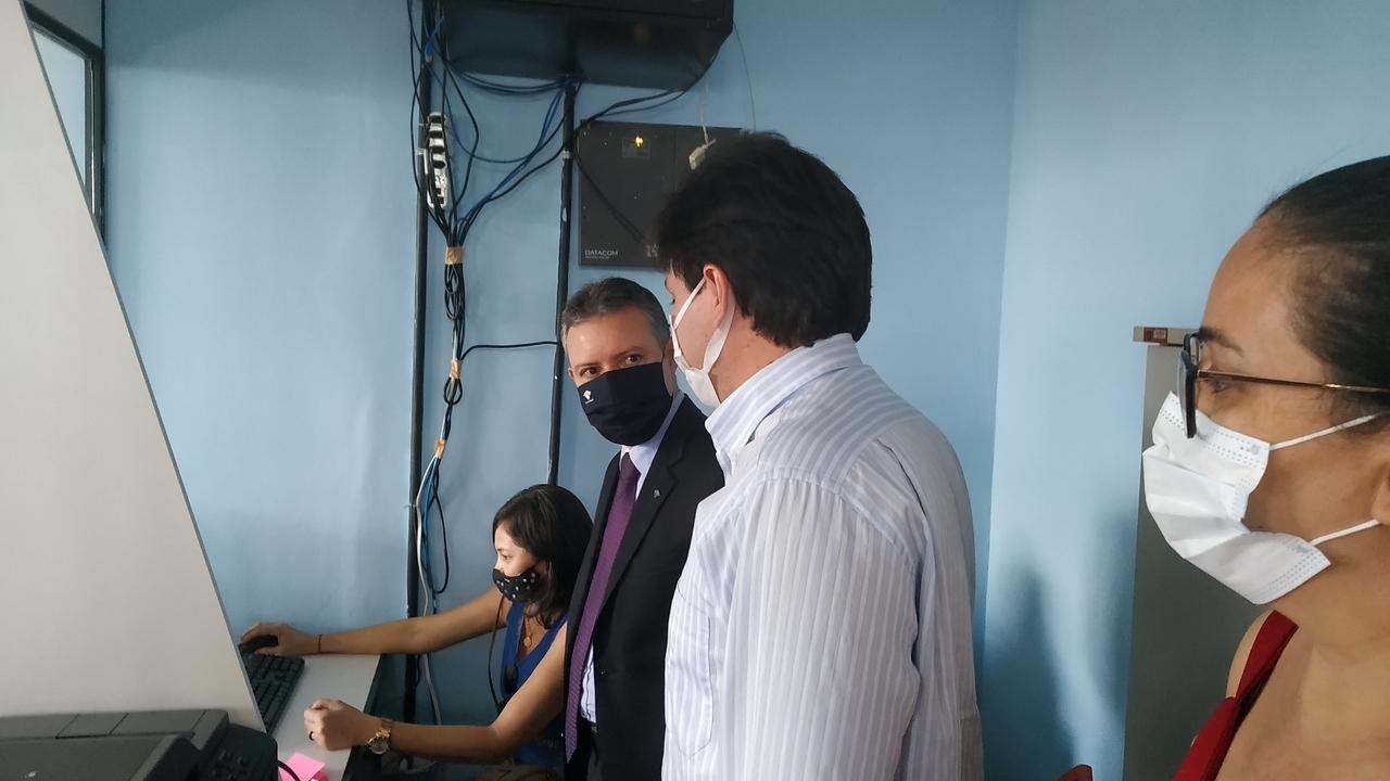 Prefeito de São Miguel do Tapuio inaugura PAV da Receita Federal - Imagem 3