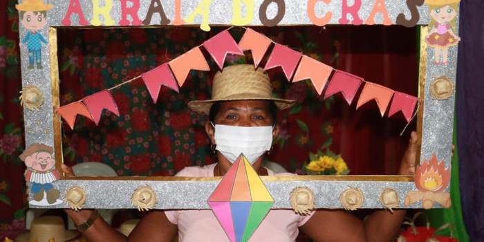 Evento para Apresentar Equipe do CRAS para o Grupo de Idosos em Lagoinha
