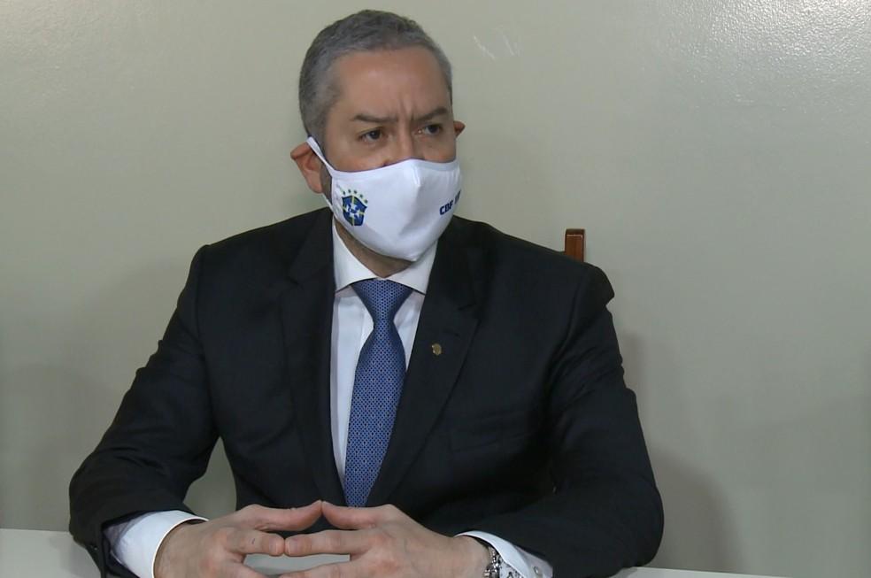 Rogério Caboclo é alvo de denúncia. (Foto: - Reprodução-Rede Amazônica)