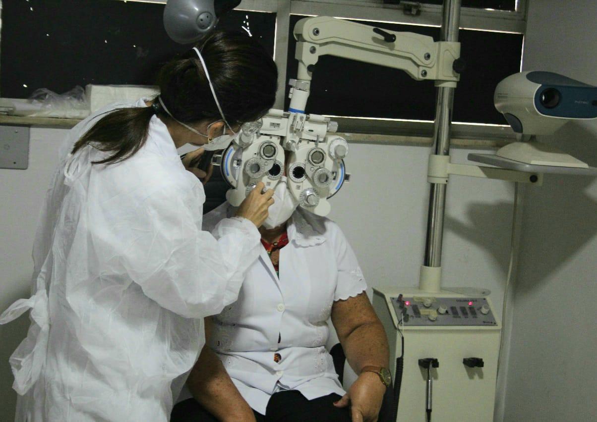 Paciente realizou cirurgia de transplante de córnea no Hospital Getúlio Vargas