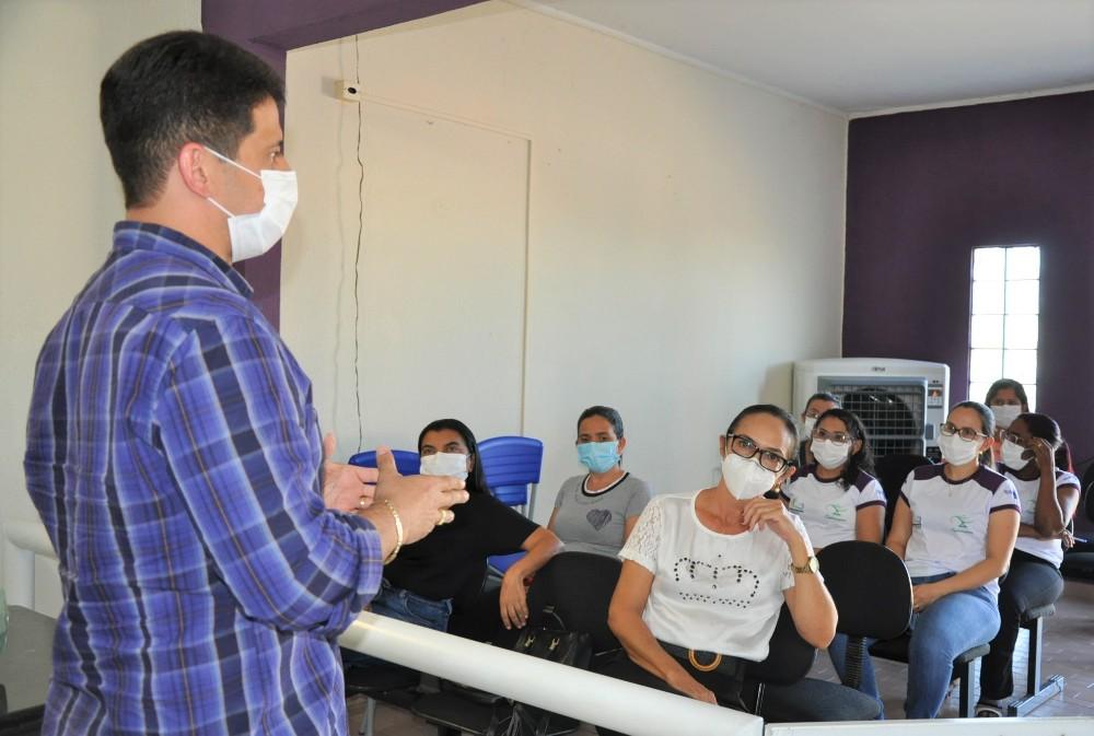 Prefeitura de Hugo Napoleão realiza mini curso de atualização de curativos - Imagem 1
