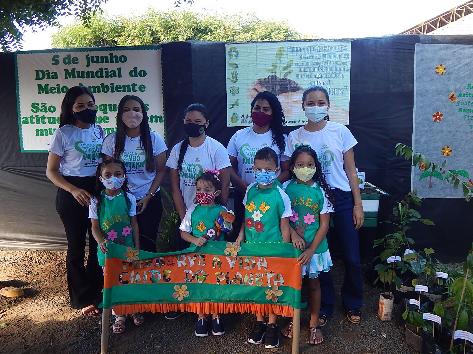 Dia Mundial do Meio Ambiente é lembrado em Agricolândia em Escolas  - Imagem 8