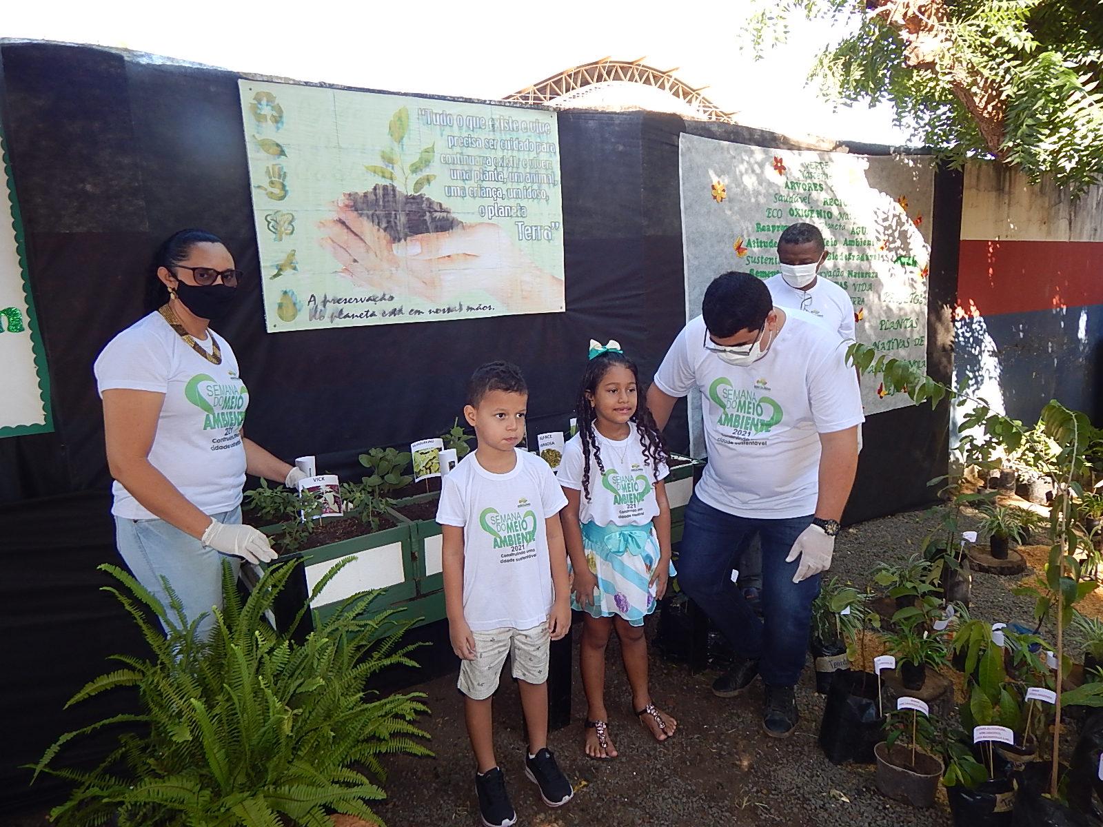 Dia Mundial do Meio Ambiente é lembrado em Agricolândia em Escolas  - Imagem 4