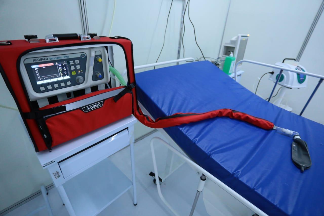 A incidência de SRAG é considerada uma métrica para acompanhar a pandemia - Foto: Ascom