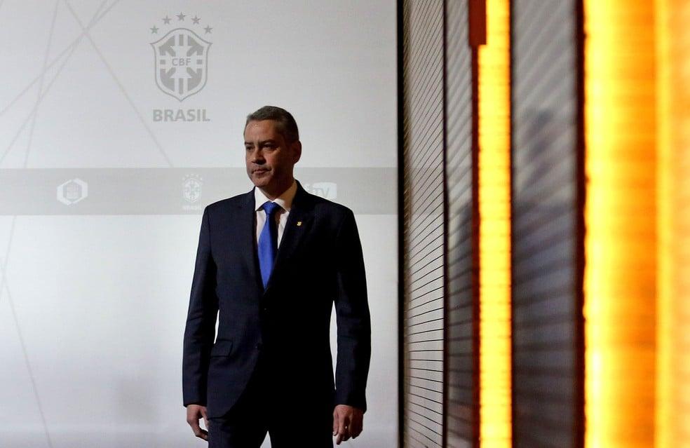 Rogério Caboclo foi afastado da presidência da CBF após denúncia de funcionária - Foto: Wilton Júnior/Estadão Conteúdo