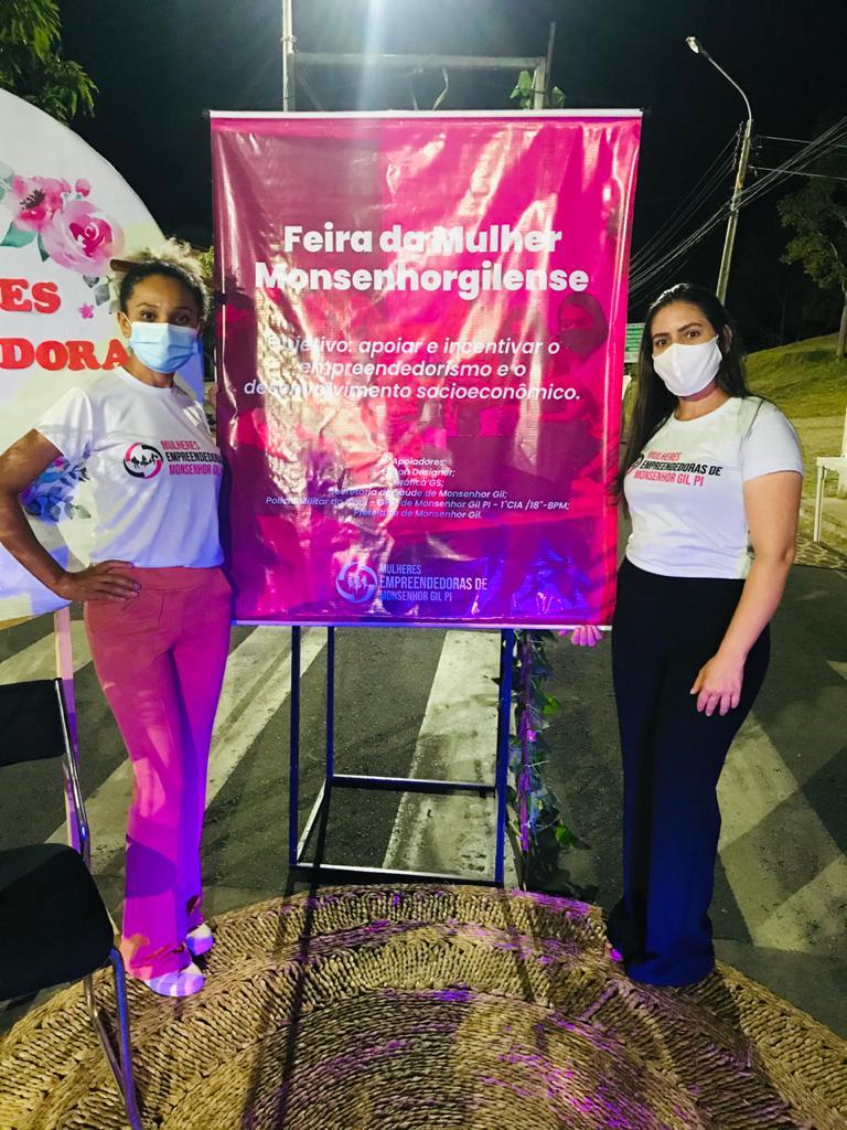 I Feira das Mulheres Emprendedoras de Monsenhor Gil é realizada com sucesso - Imagem 5