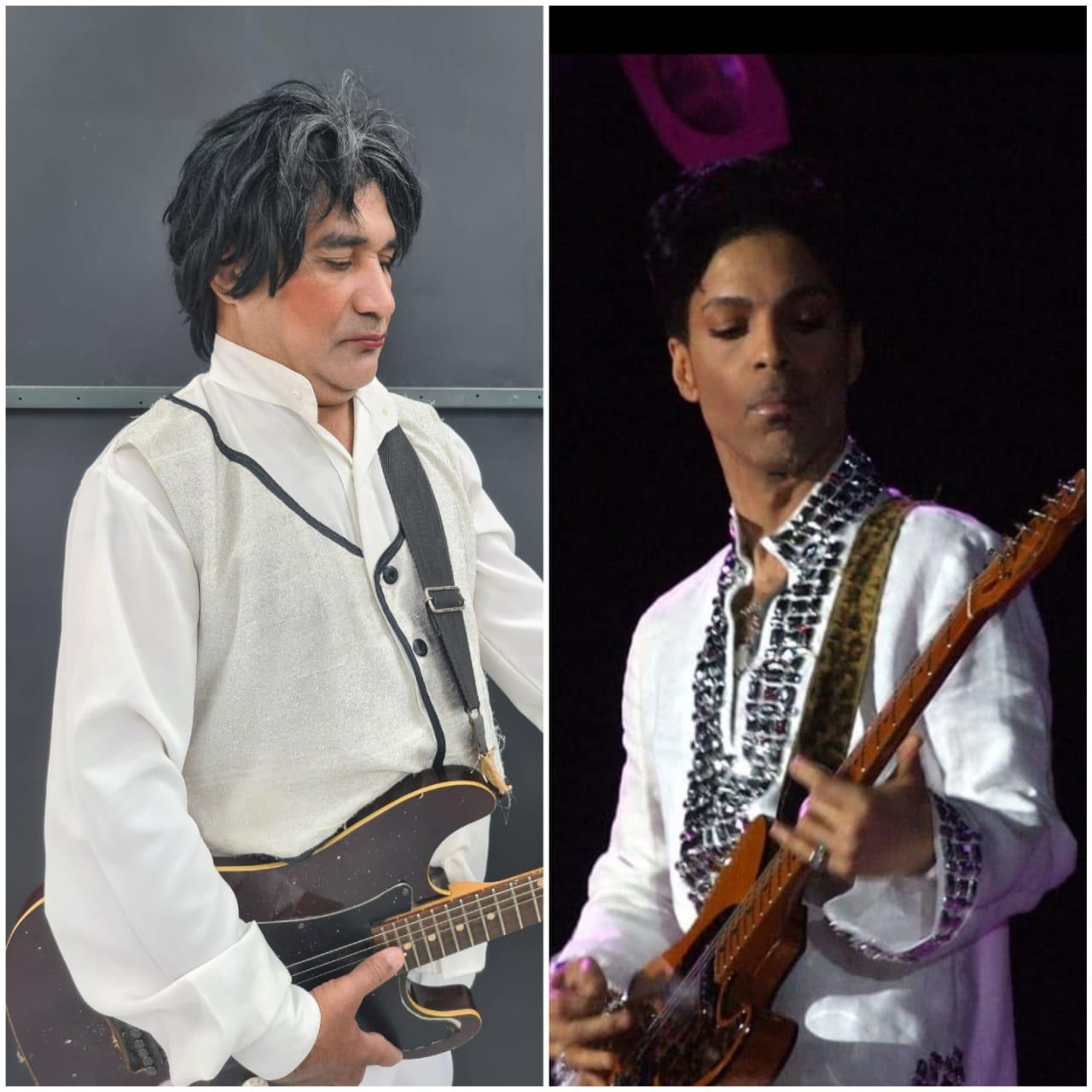 Ronda homenageia o  cantor Prince, nascido em 7 de junho de 1958 - Imagem 2