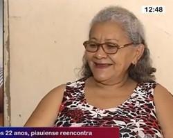 Após 22 anos, piauiense reencontra familiares que moram em Teresina; vídeo!
