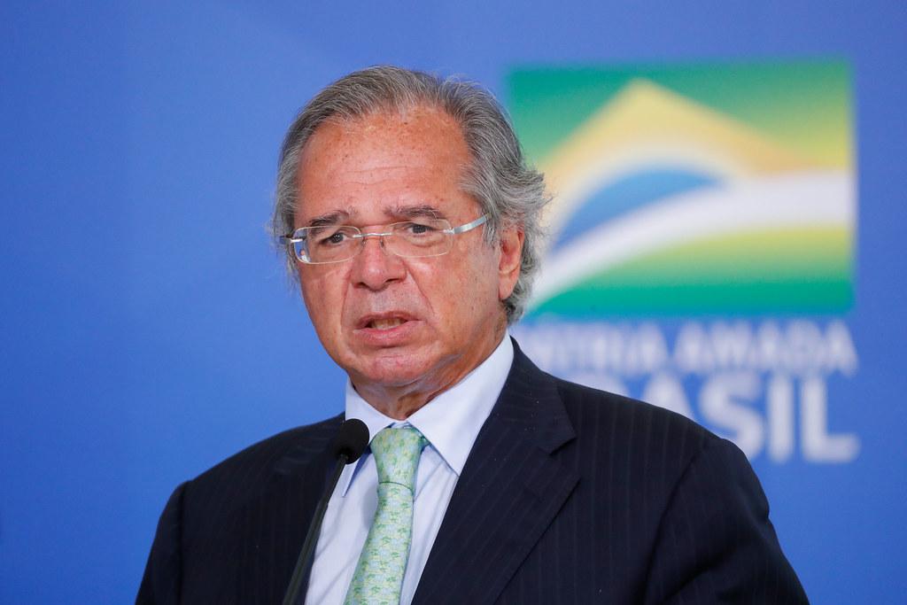 Ministro da economia, Paulo Guedes