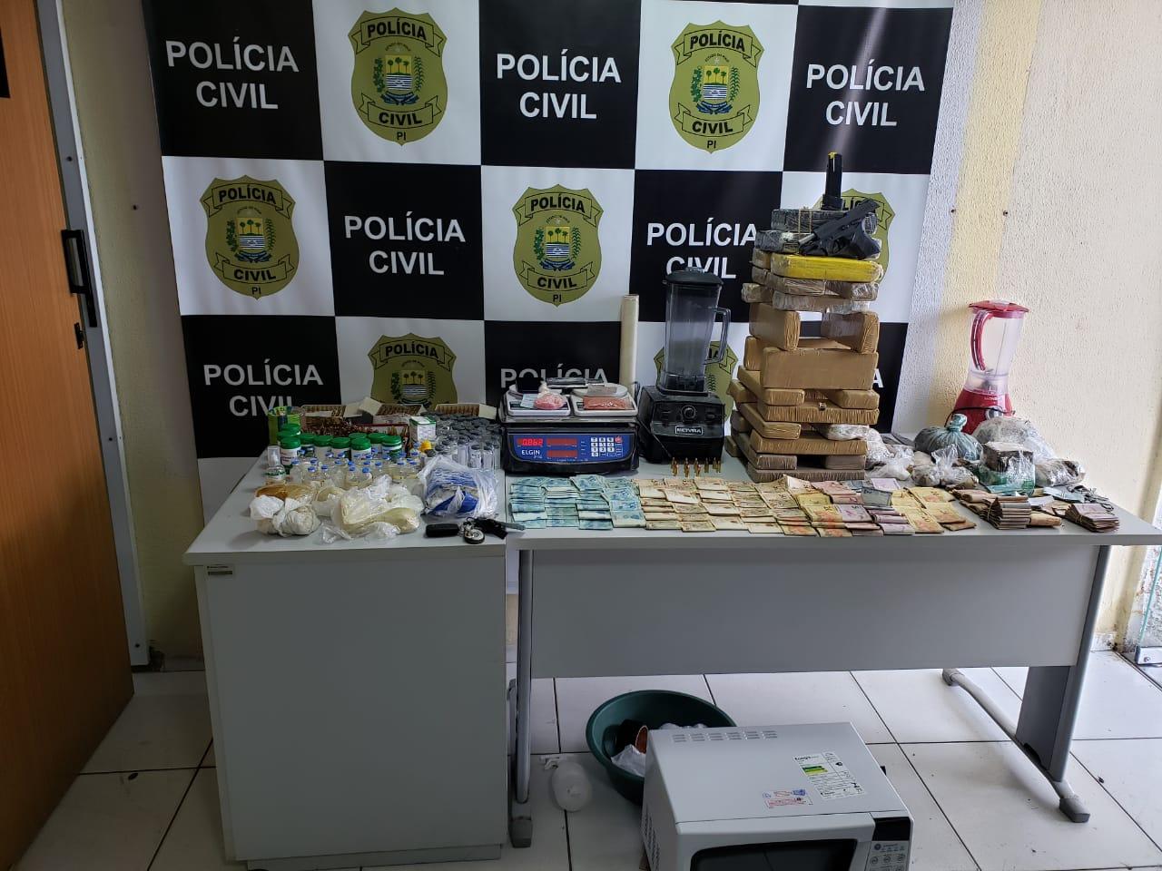 Ação aconteceu na zona Sul de Teresina (Foto: Divulgação)