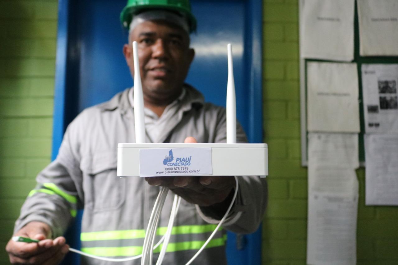 Piauí ganhará mais 900 pontos de internet do Piauí Conectado (Foto: Divulgação)