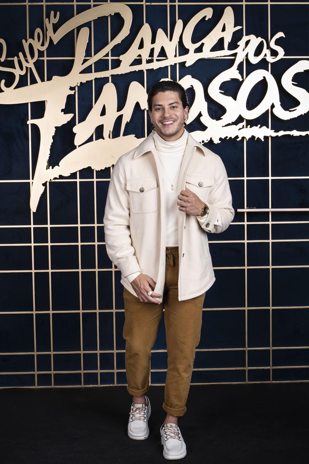 Arthur Aguiar está no elenco do Super Dança dos Famosos