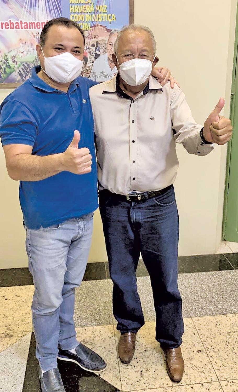 Dr. Pessoa e Evaldo anunciam que estarão juntos em 2022