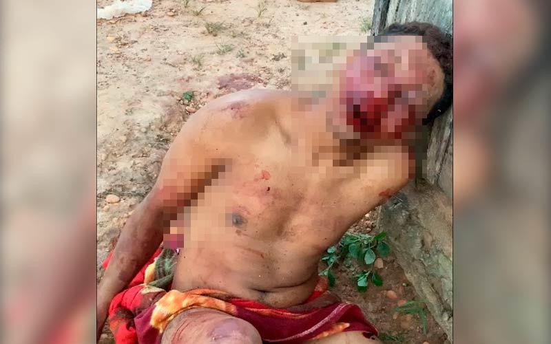 Acusado de estupro é procurado pela população e espancado (Foto: Portal Zé Dudu)