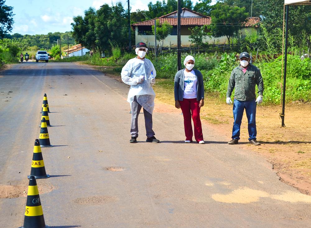 Prefeitura de Joaquim Pires instala barreira sanitária - Imagem 3