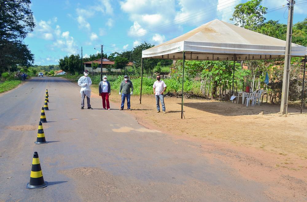 Prefeitura de Joaquim Pires instala barreira sanitária - Imagem 1