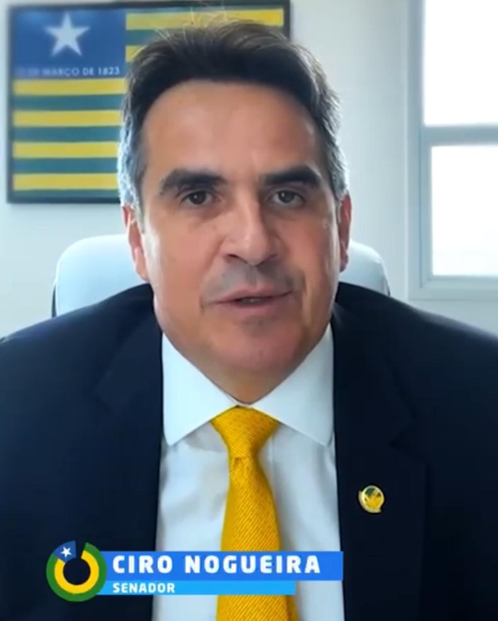 Senador Ciro Nogueira (Progressistas) fala sobre economia do Piauí