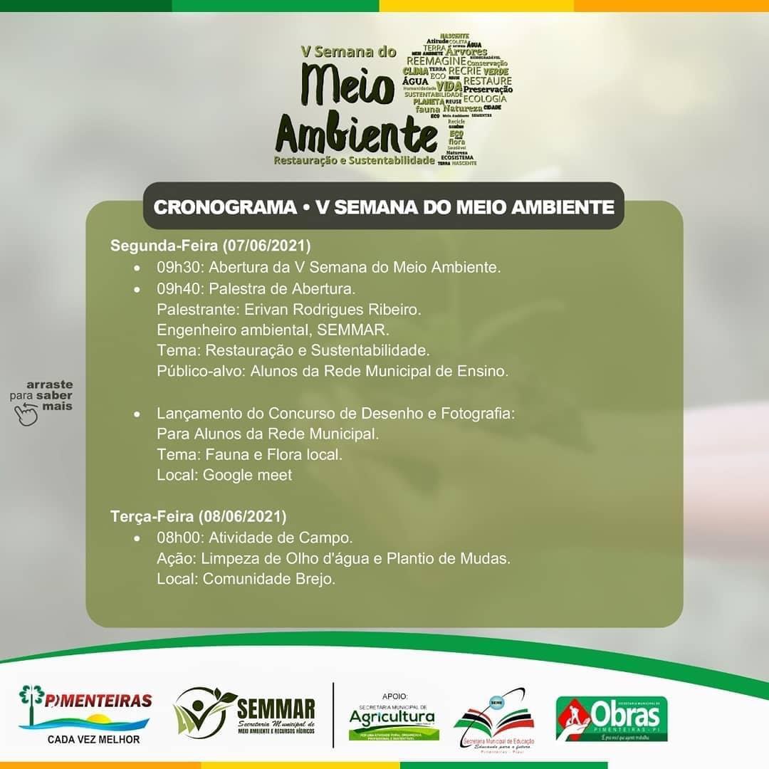 SEMMAR de Pimenteiras realiza Semana do Meio Ambiente - Imagem 2