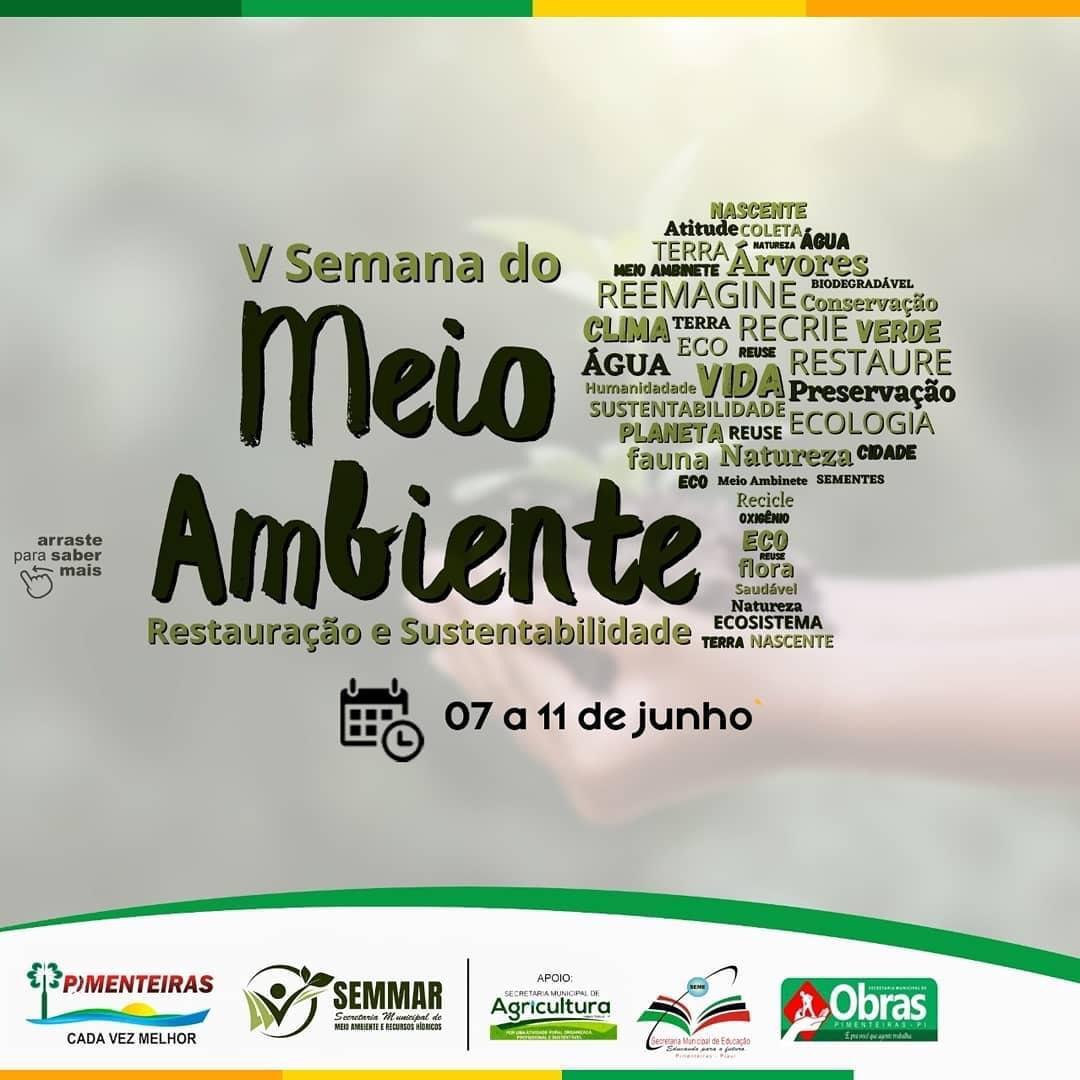 SEMMAR de Pimenteiras realiza Semana do Meio Ambiente - Imagem 1