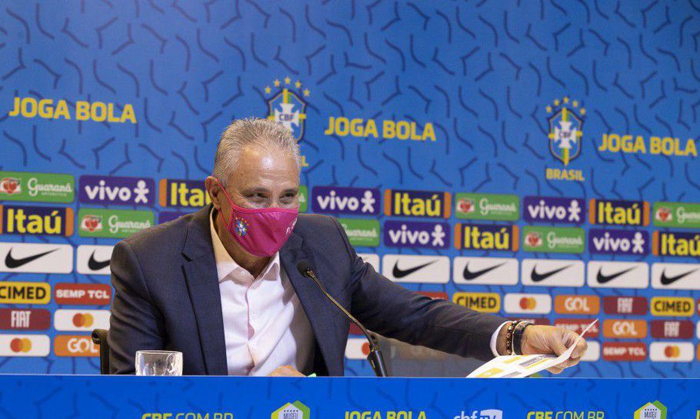 A lista manteve a base que participou dos dois últimos jogos das Eliminatórias da Copa do Mundo do Catar de 2022 - Foto: Lucas Figueiredo/CBF