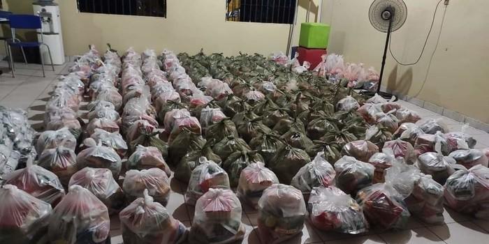 Prefeitura de Monsenhor Gil faz entrega de alimentos da merenda escolar