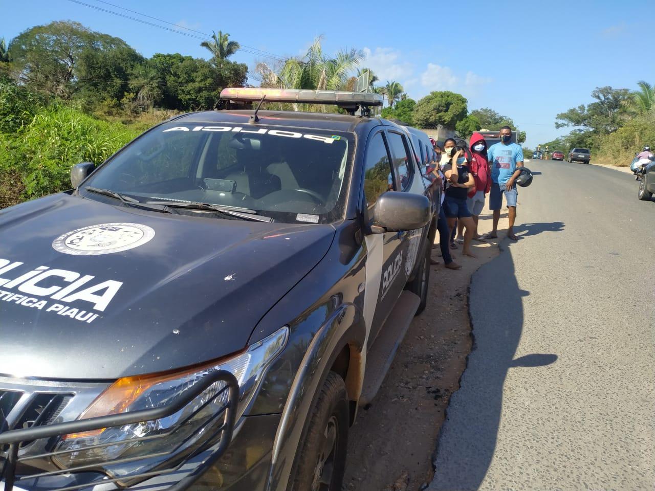 Peritos foram acionados para realizar perícia técnica no local do acidente - Foto: Portal MN