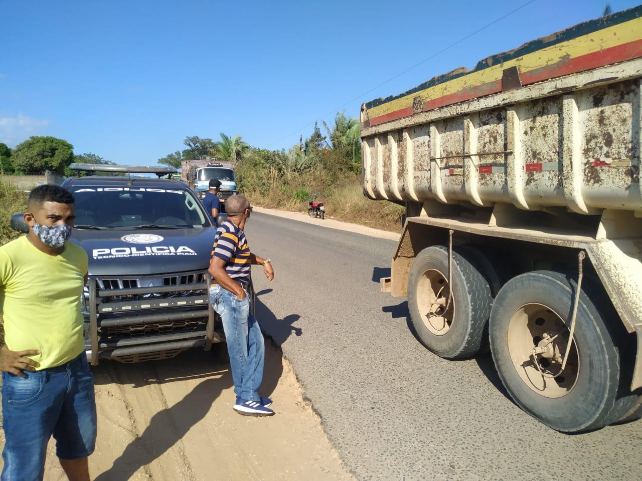 Acidente ocorreu na zona rural Sul de Teresina - Foto: Portal MN