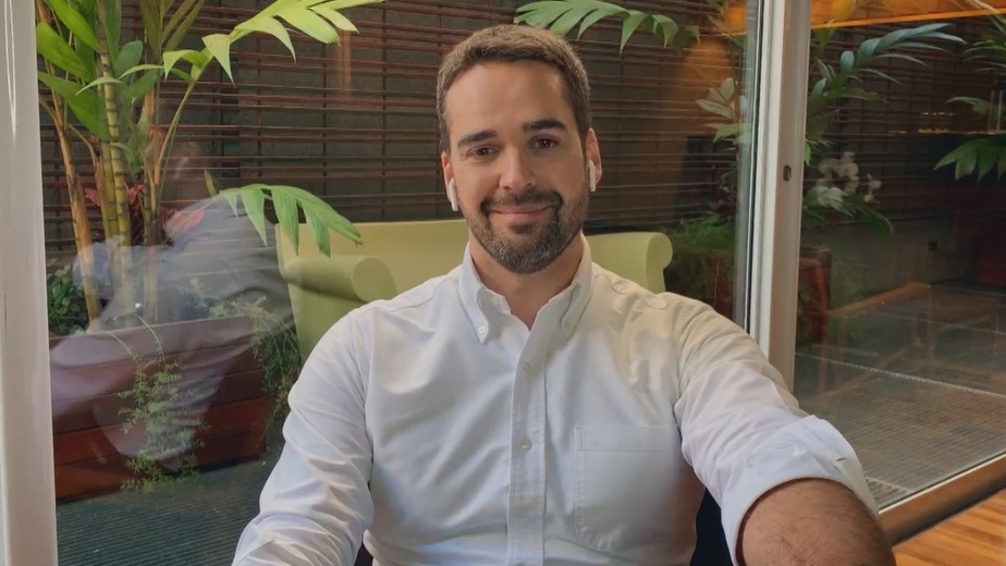 Eduardo Leite assume a homossexualidade pela primeira vez (Foto: Divulgação/Globo)