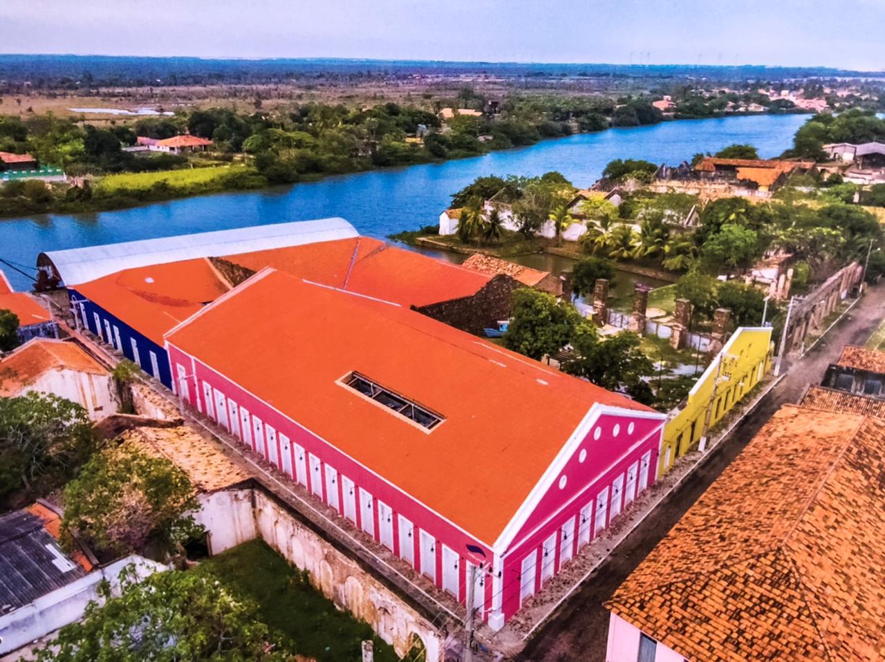 Complexo cultural Porto das Barcas (Foto: João Albert)