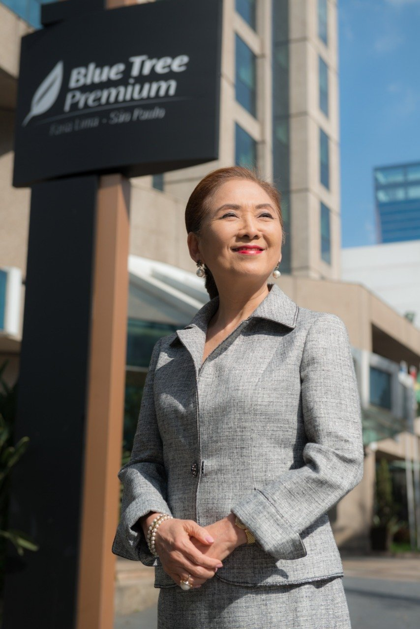Chieko Aoki, fundadora e presidente da Bluee Tree Hotels