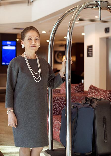 Empresária iniciou no setor de hotelaria em 1997