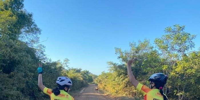 Um domingo sobre Bike em Monsenhor Gil com destino ao Poço Azul