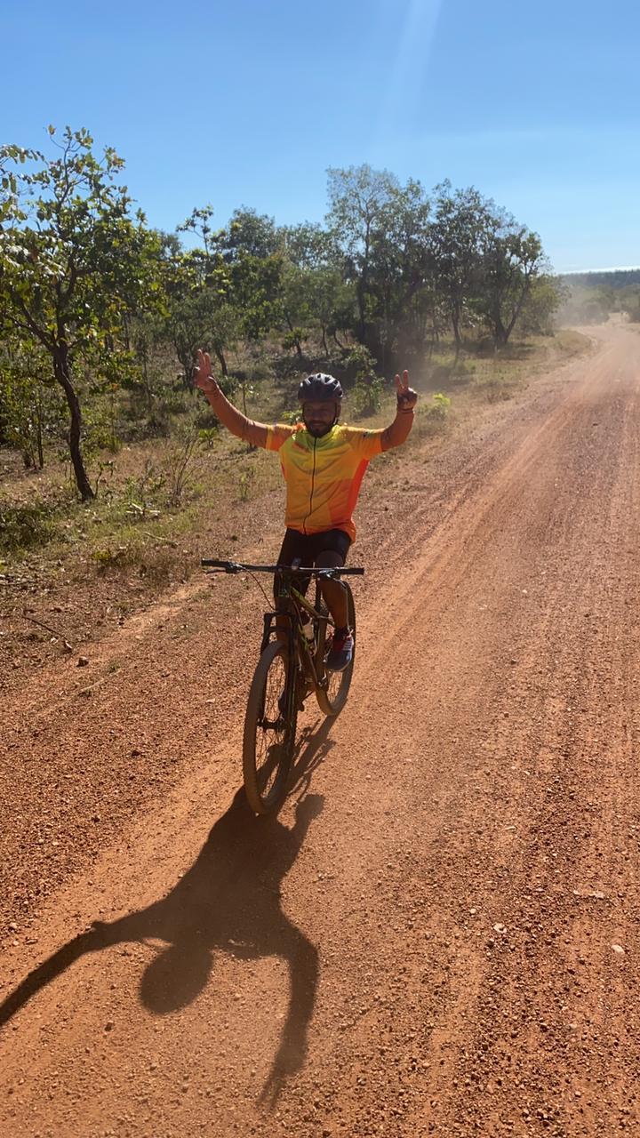 Um domingo sobre Bike em Monsenhor Gil com destino ao Poço Azul - Imagem 1