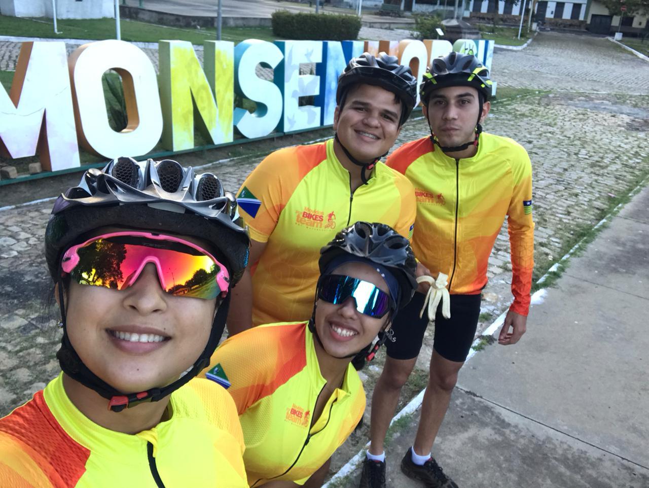 Um domingo sobre Bike em Monsenhor Gil com destino ao Poço Azul - Imagem 16