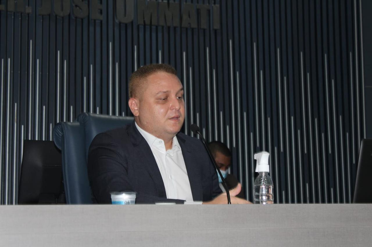 Vereador Venâncio Cardoso propõs audiência pública (Divulgação)