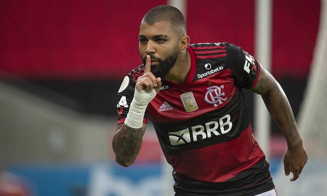 Gabigol volta ao Flamengo nesta segunda-feira (12)- Foto: Alexandre Vidal
