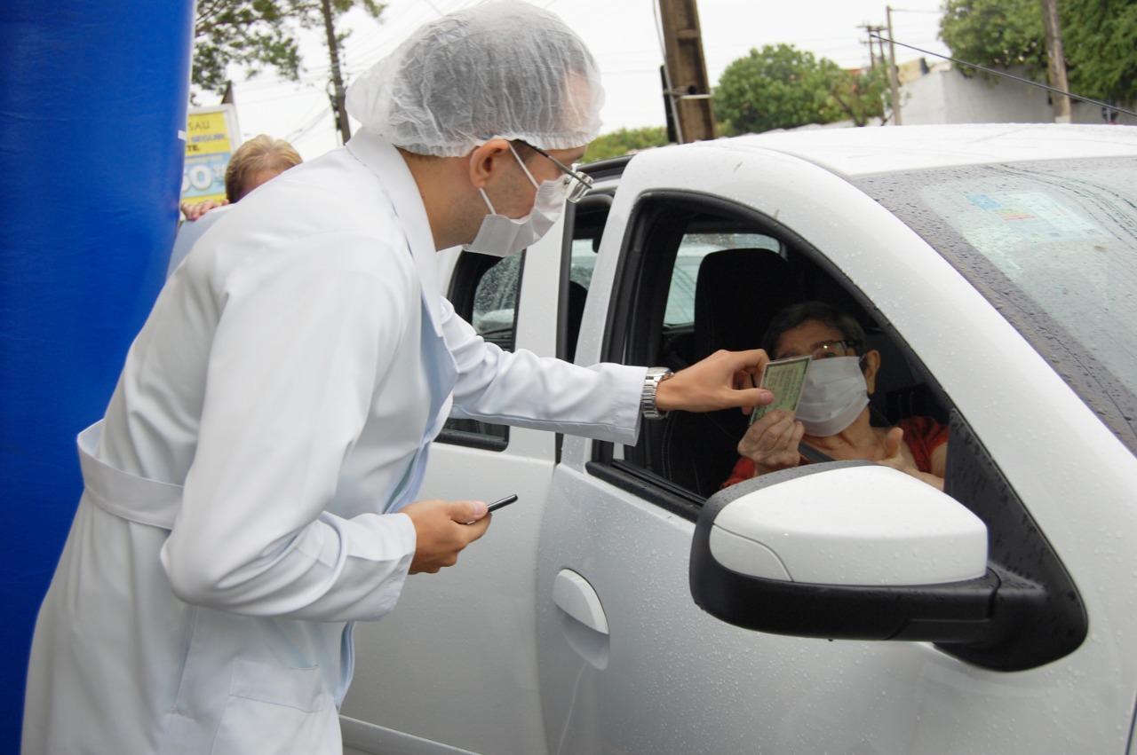 Piauí avabça na vacinação contra a Covid-19 (Foto: Ascom/ PMT)