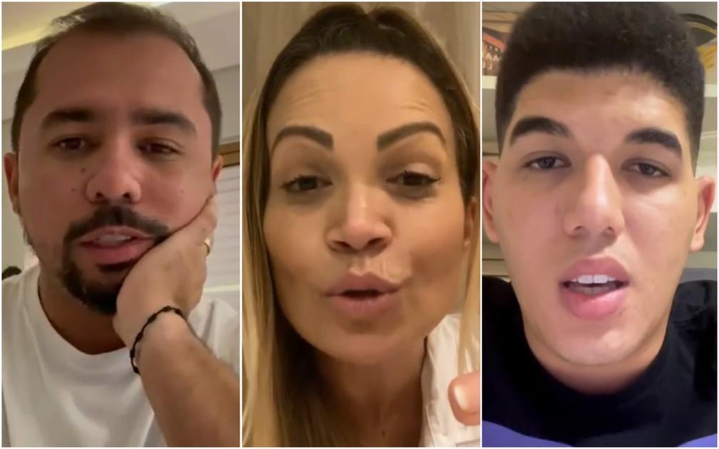 Xand Avião, Solange Almeida e Zé Vaqueiro prestam apoio a Pamella Holanda