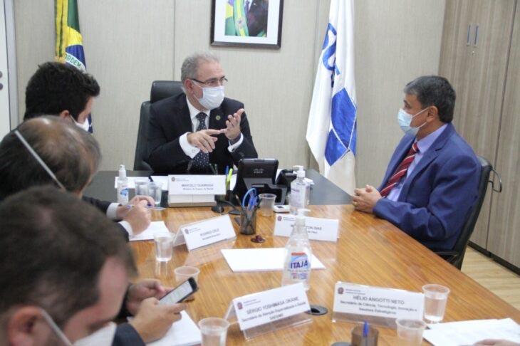 Governador Wellington Dias se reúne com ministro da saúde, Marcelo Queiroga - Foto: Divulgação